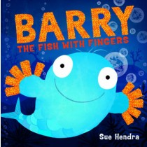 Barry the Fish with Fingers - children's book - gently used